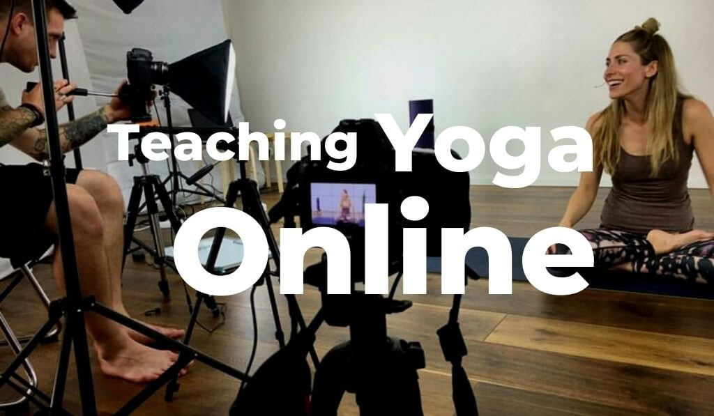 teaching yoga online